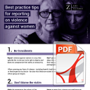 Best Practice Tips for Reporting on Violence Against Women