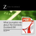 What journalists need to know about the Domestic Abuse (Scotland) Bill
