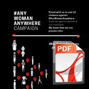 AnyWomanAnywhere Campaign Leaflet