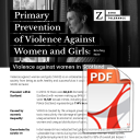 Primary Prevention Briefing