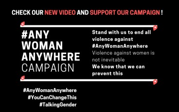 Check our new #AnyWomanAnywhere Campaign Video