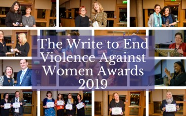 Winners announced for the Write to End Violence Against Women Awards 2019!