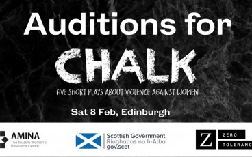 Audition for Chalk: Five short plays about violence against women