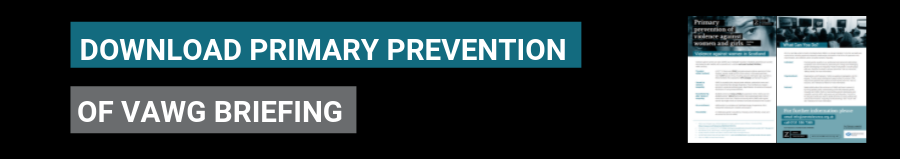 Download our Primary Prevention Briefing